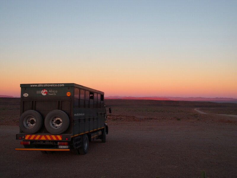 Fish River Canyon Truck